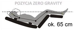 leżak Evolution kolor Obsidian